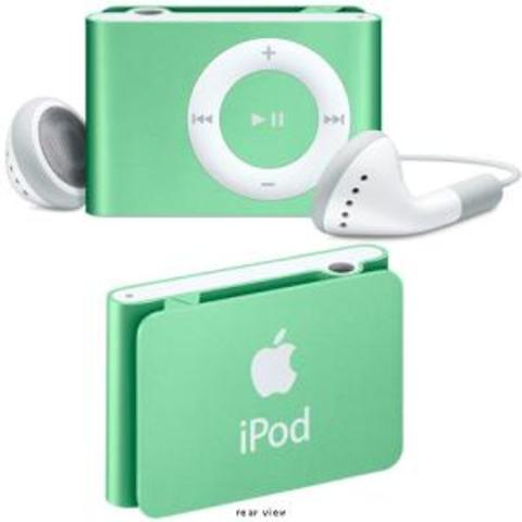 2nd generation ipod shuffe