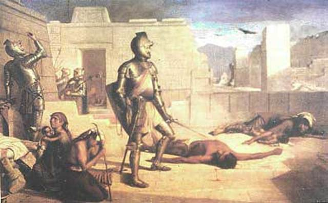 La gran matanza del Templo Mayor