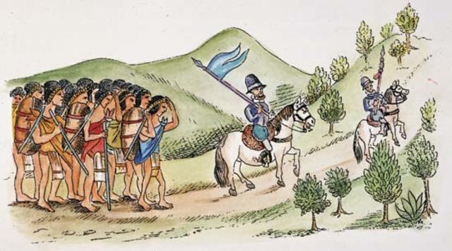 Cortés regresa a Tenochtitlan