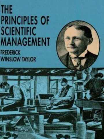 principles of scientific management theory