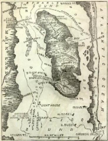 Roanoke Island Attempted Colonization