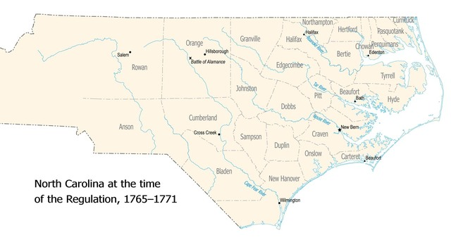 North Carolina Seperates From South Carolina