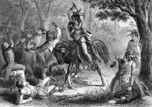 Savannah Indians End Alliance With Carolinians