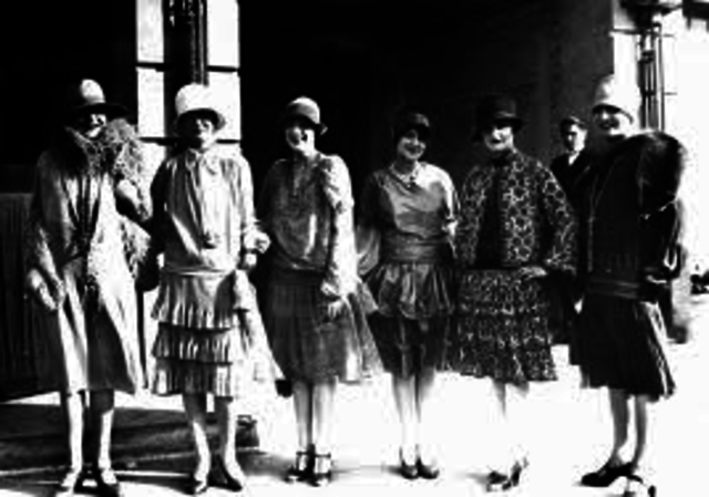 1920 to 1930's Fashion
