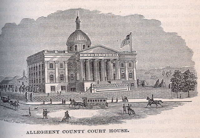 A new courthouse is built