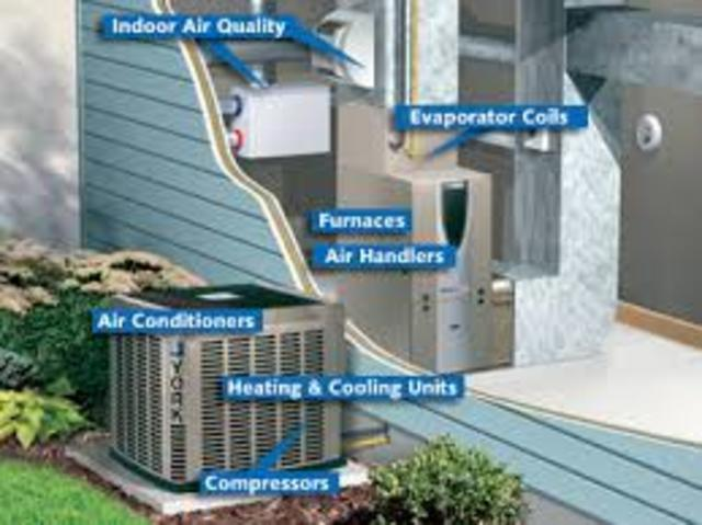the first private home to have air conditioning