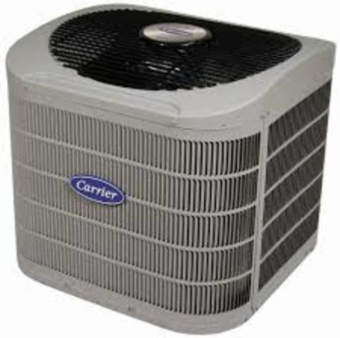 First central air conditioning