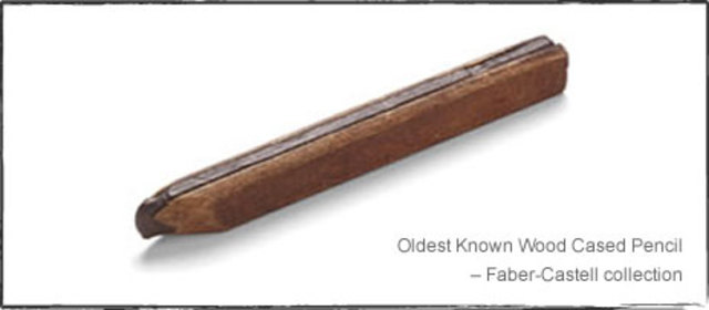 """First """"Blue-print"""" of Modern Day Wooden Pencil"""