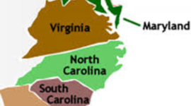 Southern Colonies timeline
