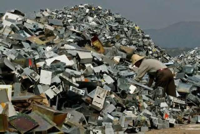 Electric waste in Guiyn