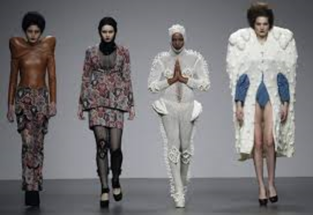 History Fashion timeline | Timetoast timelines