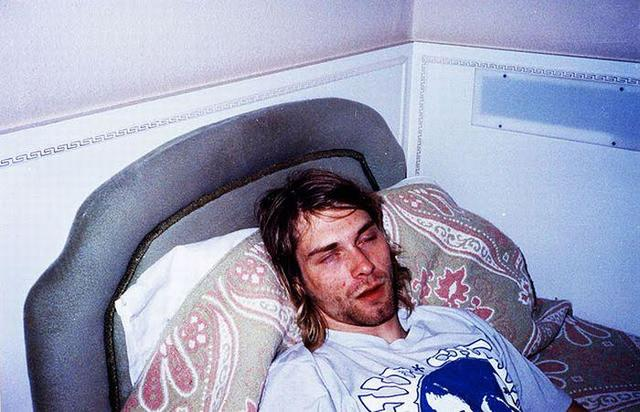 Cobain wakes up from coma 20 hours later in hospital, orders milkshake