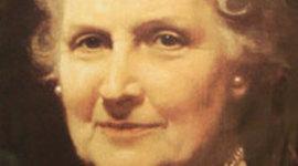 Historia de vida María Montessori timeline