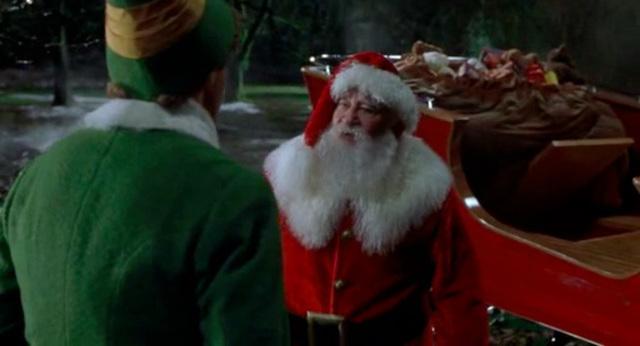 Santa in Manhatten
