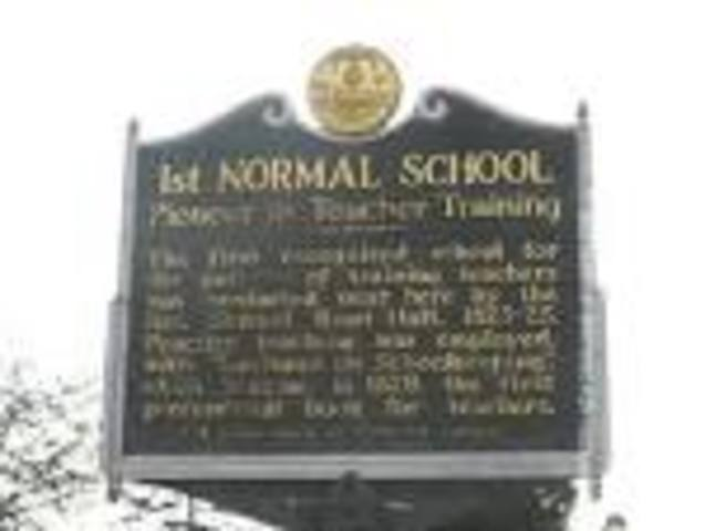 """Normal schools"""