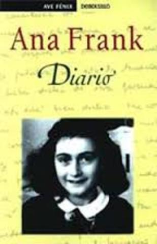 Lei mi libro favorito Diario de Anna Frank