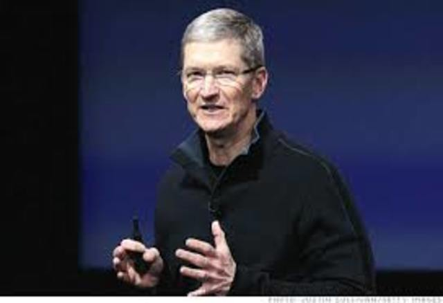 Tim Cook Takes Over Apple