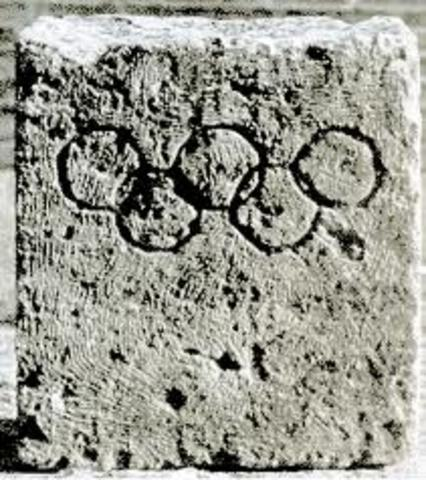 776 B.C.E. The first Olympic Games