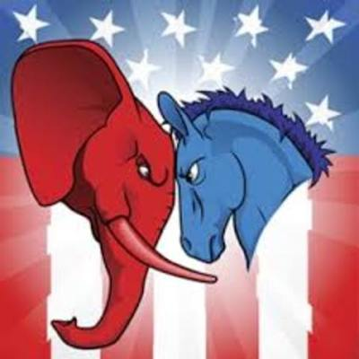 Political Parties in the US timeline