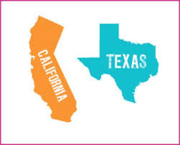 Me mudé de California a Texas