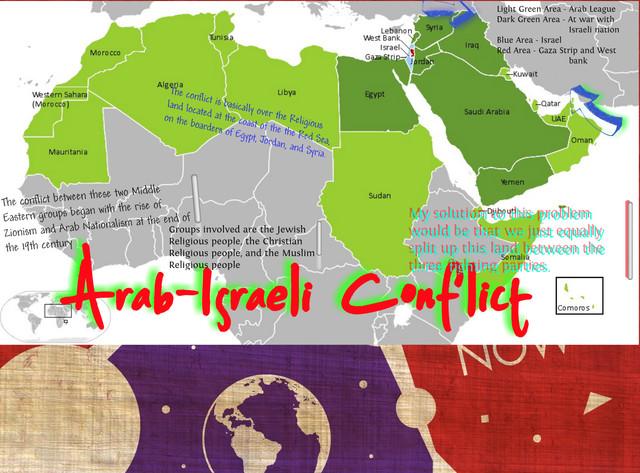 Arab-Israeli Conflict Timeline | Timetoast timelines
