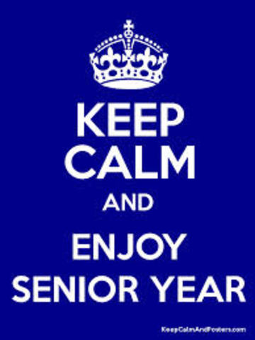 Senior Year starts