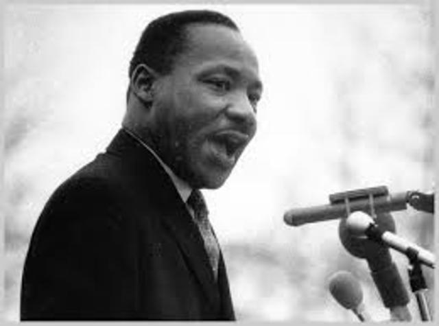 MLK Jr. is killed.