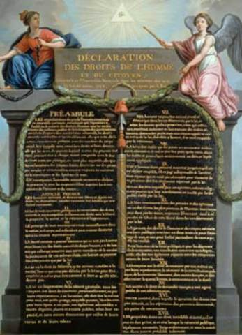 declaration rights men and citizens The declaration of the rights of man and of the citizen, written in august 1789, is a central document of the french revolution and fundamental to the history of both civil and human rights.