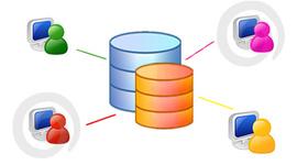 Historia de las bases de datos. timeline