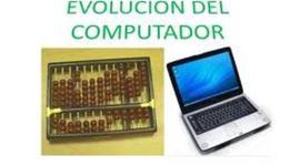 EVOLUCIÓN DEL COMPUTADOR timeline