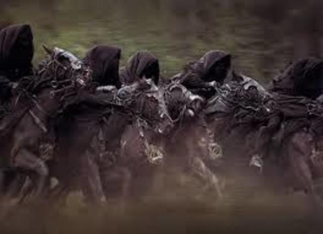 Oct, 11, 1410 Black Rider Ambush