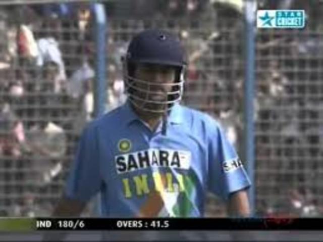 Debut Innings against bangladesh