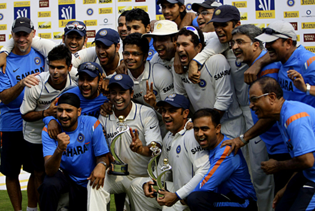 India rises to  NO 1 Ranking in Test Cricket