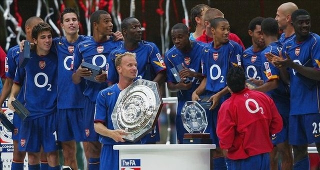 Community Shield success against Manchester United