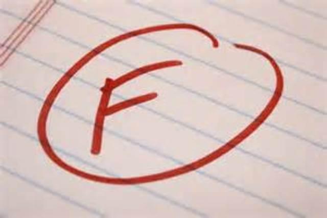 Failed a class