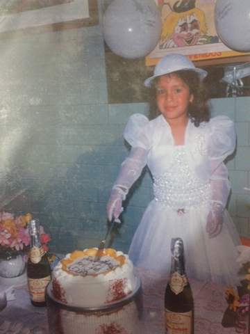 She first communion