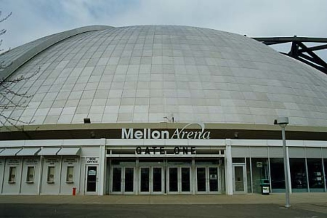 Mellon Arena is closed