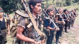 """""""¿Cómo inició la Guerra en El Salvador?"""" timeline"""