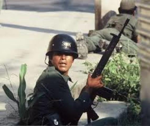 Represion Al Pueblo Salvadoreño Por Parte De La Guardia Nacional