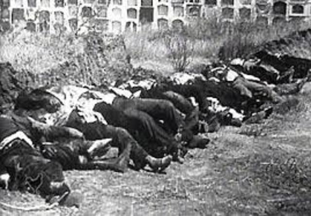 masacres por parte de la guardia