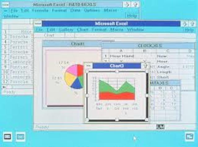 Microsoft publicó la primera versión de Excel para Mac en 1985