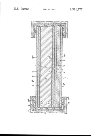 First Patent for Bulletproof Glass