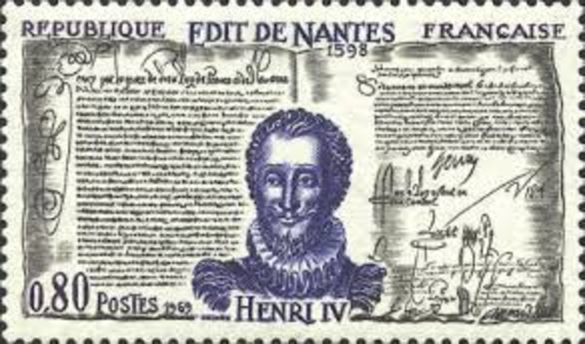 Henry VI issued the Edict of Nantes