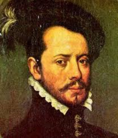 Hernando Cortez and his forces overthrew the Aztec Empire