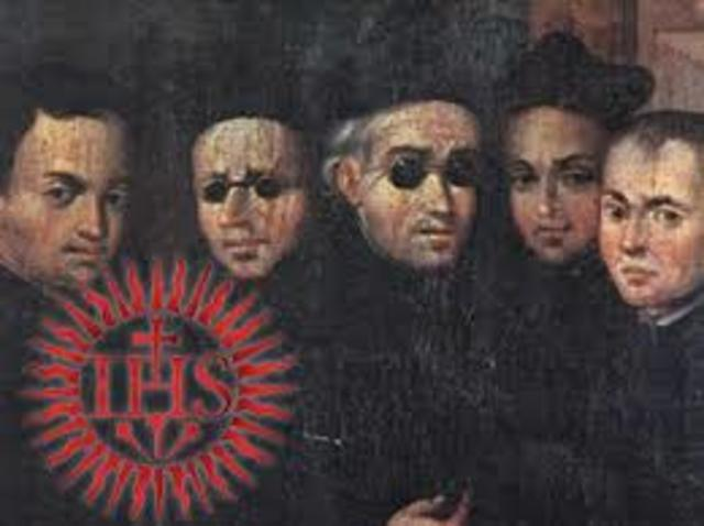 The Jesuits were created during the Catholic Reformation
