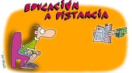 EDUCACION A DISTANCIA timeline