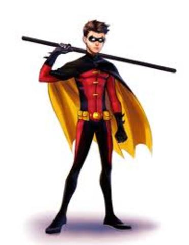 Young Justice Red Robin Tim Drake Cosplay Costume |Young Justice Tim Drake Red Robin