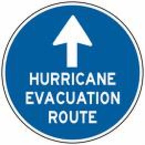 Hurricane Katrina hits.