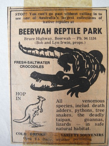 Image result for Beerwah Reptile Park