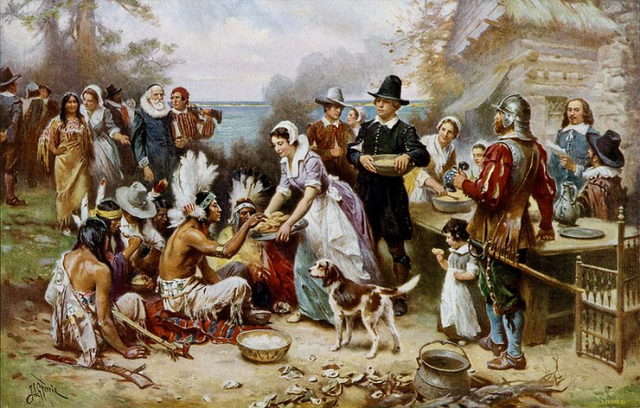 Pilgrims founded Plymouth Bay Colony